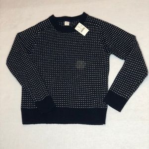 Crewcuts 100% wool sweater